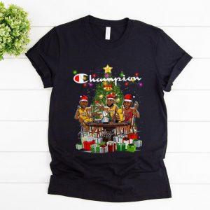 Premium Lebron James Kobe Bryant Michael Jordan Champion Christmas Tree shirt