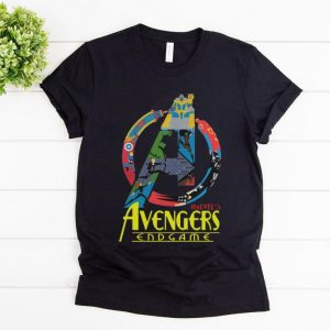Premium Marvel Avengers Endgame logo full colors shirt