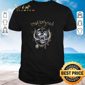 Premium Motorhead 1975-2015 signatures shirt 2020