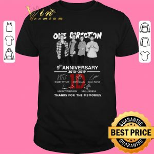 Premium One Direction 9th anniversary 2010-2019 thanks for the memories shirt sweater 2019