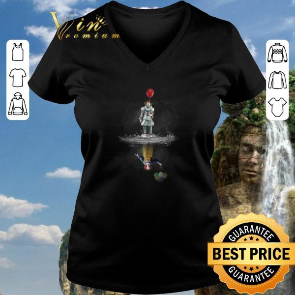 Premium Pennywise reflection Water mirror Stephen King's IT The Clown shirt sweater 2020