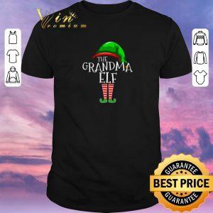 Premium The Grandma Elf Family Christmas shirt sweater