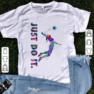 Premium Volleyball Girl Just Do It Flower shirt