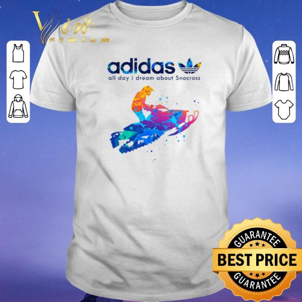 Premium adidas all day i dream about Snocross shirt sweater