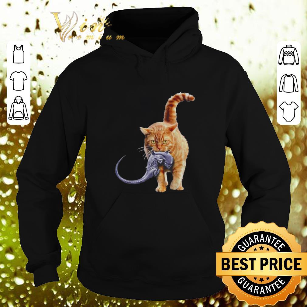 Pretty Cat eat alien shirt 4 - Pretty Cat eat alien shirt