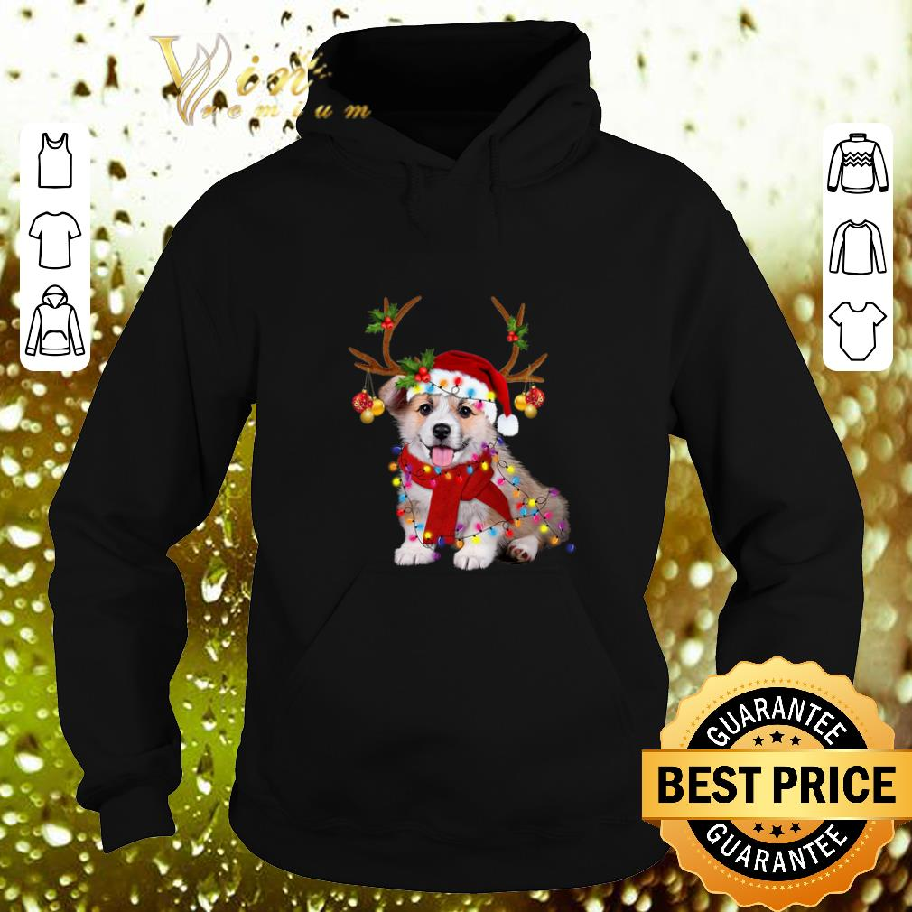 Pretty Corgi reindeer Christmas shirt 4 - Pretty Corgi reindeer Christmas shirt