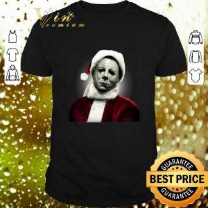 Pretty Michael Myers Santa Claus shirt