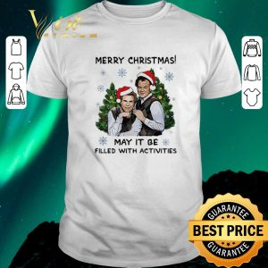 Pretty Step brothers Merry Christmas may it be filled with activities shirt sweater
