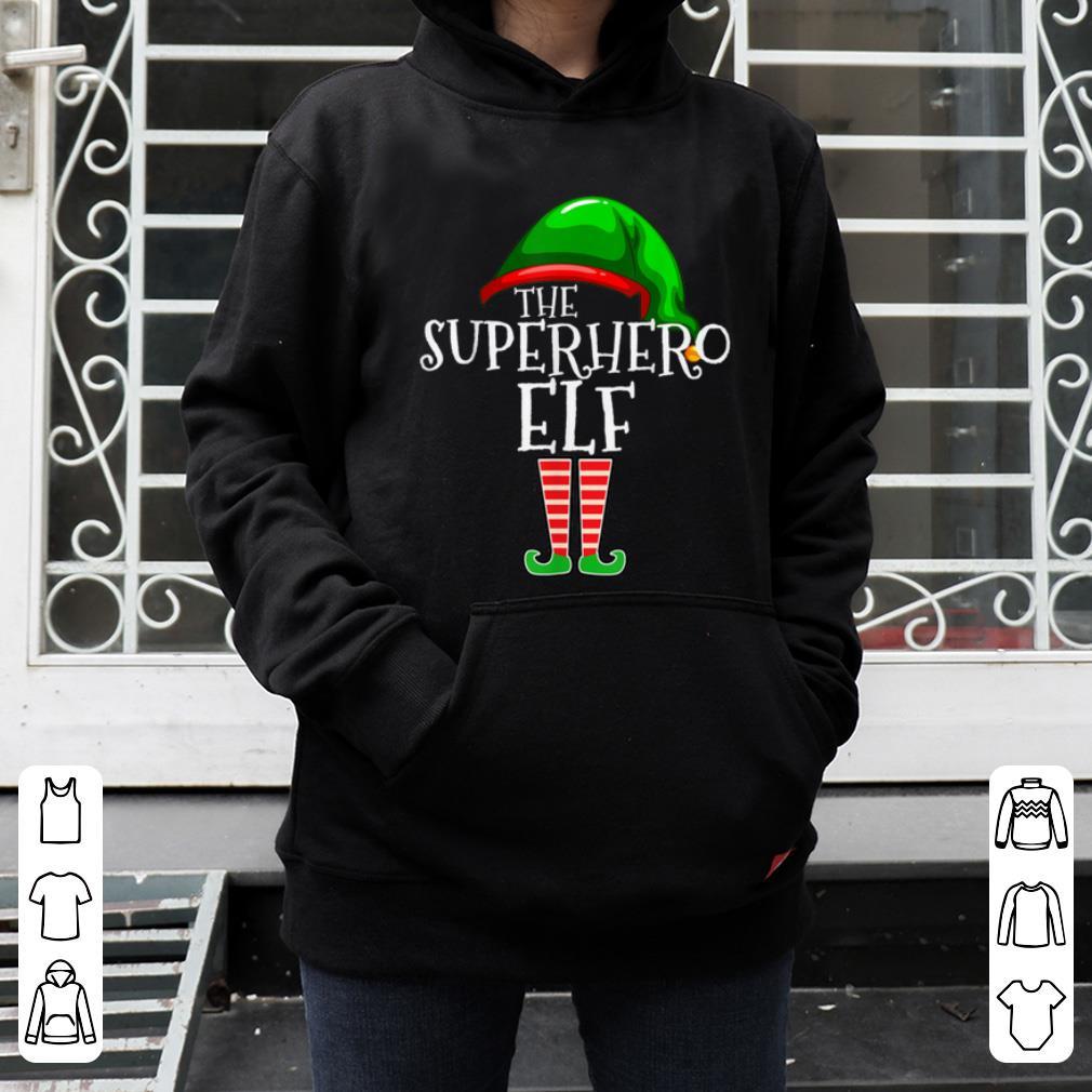 Pretty Superhero Elf Group Matching Family Christmas Gift Outfit shirt 4 - Pretty Superhero Elf Group Matching Family Christmas Gift Outfit shirt