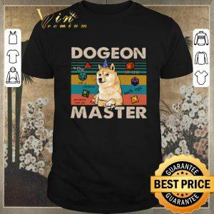 Pretty Vintage Shiba dogeon master dungeon shirt
