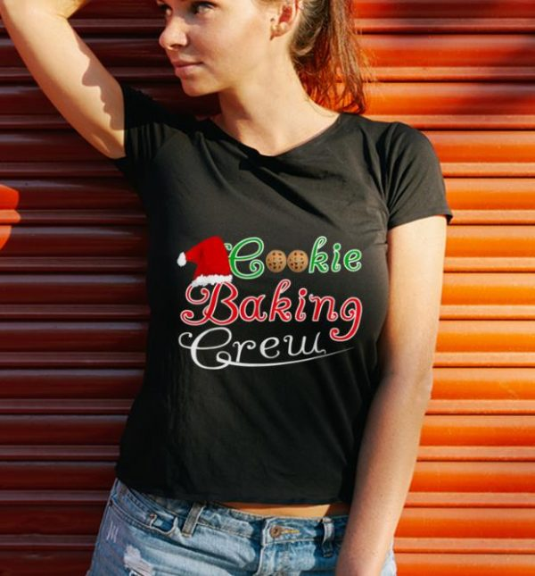 Top Family Matching Cookie Baking Crew Christmas Holiday shirt