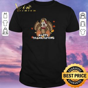 Top Happy Thanksgiving Turkey Mickey Mouse shirt