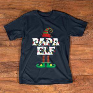 Top Papa ELF Heart Christmas Matching Family Gift Ugly shirt
