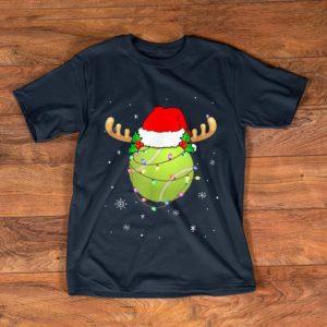 Top Santa Hat Tennis Reindeer Christmas Gifts shirt