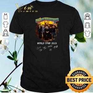 Top Signatures Molly Hatchet world tour 2019 shirt