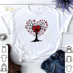 Asl Heart Tree Sign Language I Love You shirt sweater