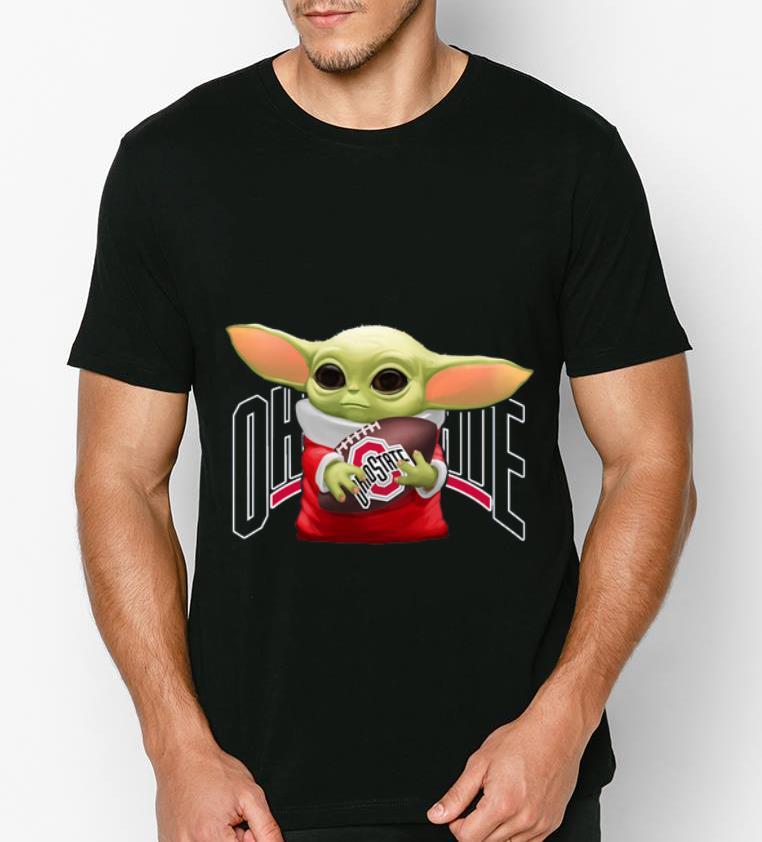 Awesome Baby Yoda Hug Ohio State Buckeyes shirt 4 - Awesome Baby Yoda Hug Ohio State Buckeyes shirt