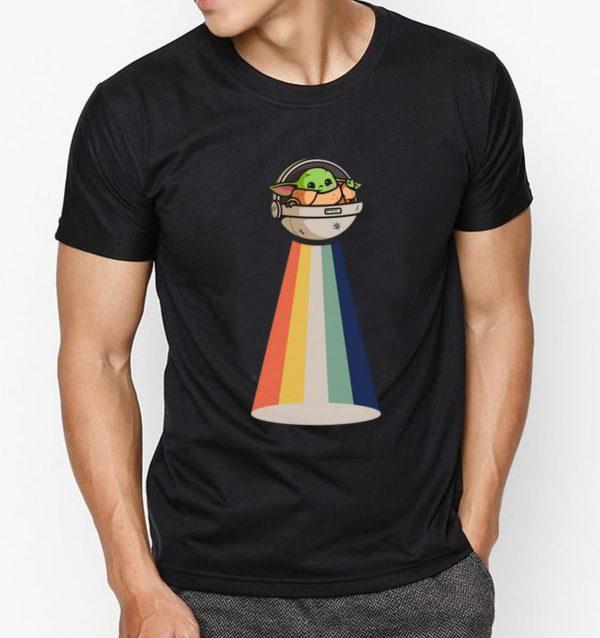 Awesome Baby Yoda UFO vintage shirt