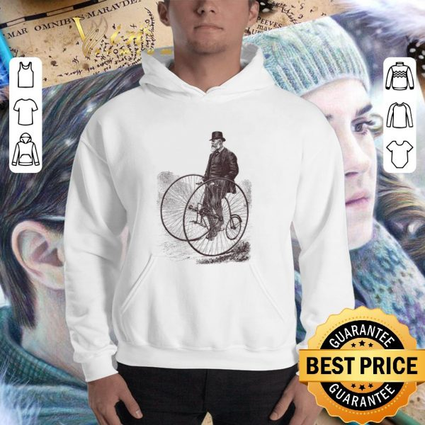 Awesome Bicycle Cycling History Bike Cyclists shirt