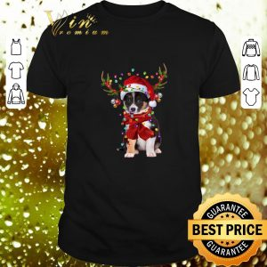 Awesome Border Collie Reindeer Christmas shirt