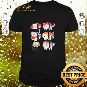 Awesome Cats Mashup Sushi shirt