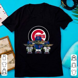 Awesome Chicago Cubs Baby Yoda shirt
