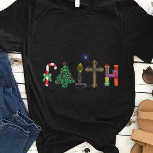 Awesome Christmas Faith Tee Xmas Faith sweater