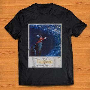 Awesome Disney Mickey Mouse Fantasia The Ultimate In Sight And Sound shirt