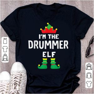 Awesome I'm The Drummer Elf Matching Christmas Family Group Gift sweater