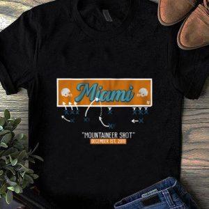 Awesome Miami Mountaineer Shot shirt