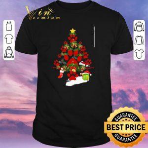 Awesome Paw dog Christmas tree gift shirt sweater