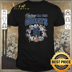 Awesome Signatures San Diego Padres all time greats shirt
