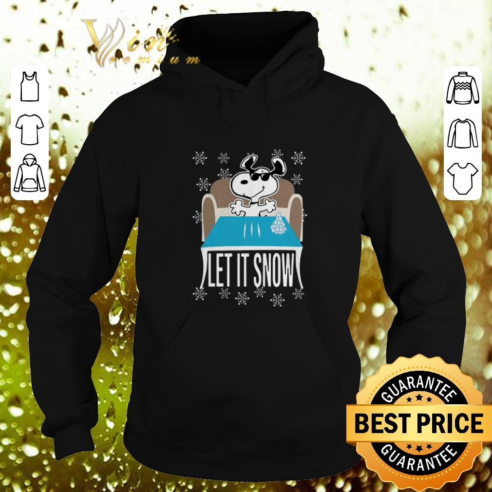 Awesome Snoopy Walmart Cocaine Let It Snow shirt 4 - Awesome Snoopy Walmart Cocaine Let It Snow shirt