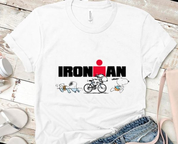 Awesome Sports Snoopy Iron Man shirt