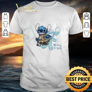 Awesome Stitch Jedi good bad Star Wars shirt