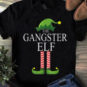 Awesome The Gangster Elf Family Matching Group Christmas Gift Funny sweater