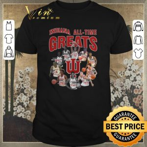 Awesome signatures indiana hoosiers all time greats legend shirt
