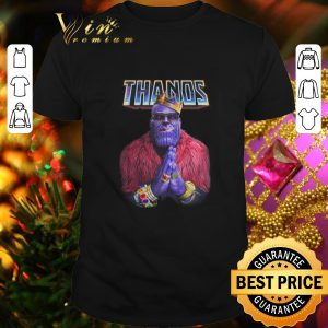 Best King Thanos Rap Style Hip Hop Avengers Endgame shirt
