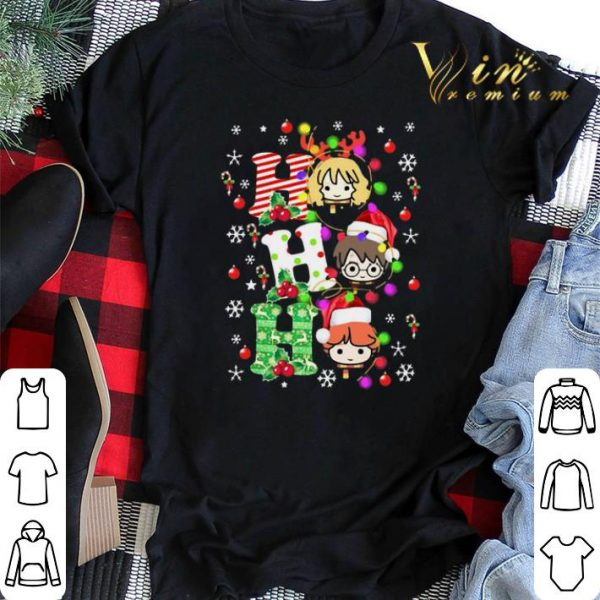 Christmas Light Harry Potter Ho Ho Ho shirt