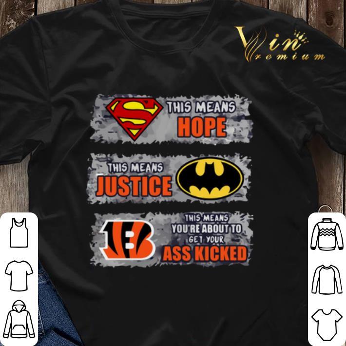 cincinnati bengals batman shirt