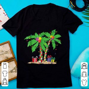Decorated Christmas Palm Tree Tropical Xmas Coconut sweater