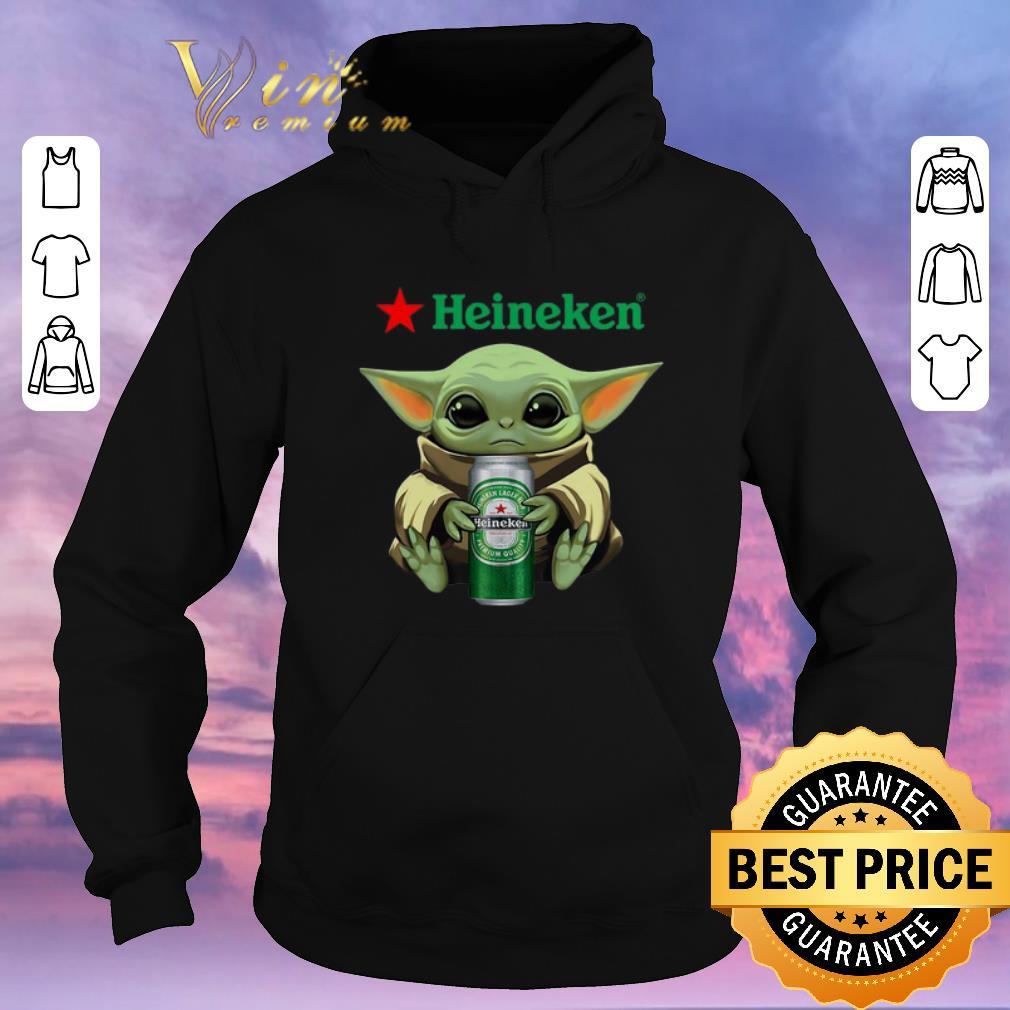 Funny Baby Yoda hug Heineken Star Wars Mandalorian shirt sweater 4 - Funny Baby Yoda hug Heineken Star Wars Mandalorian shirt sweater