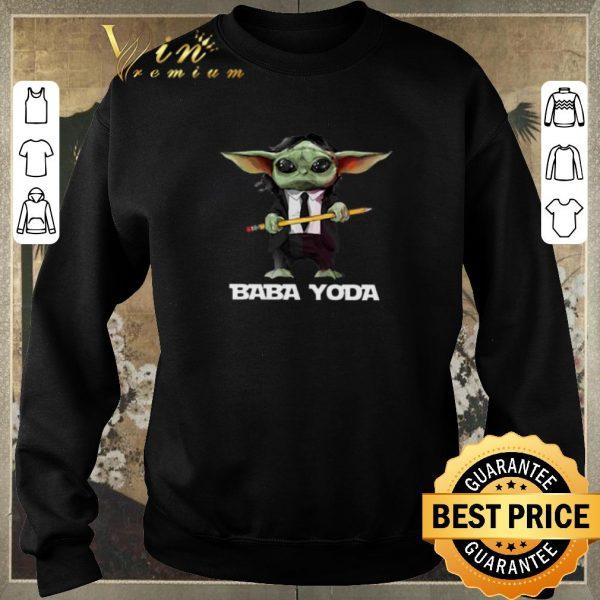 Funny John Wick Baba Yoda Baby shirt sweater