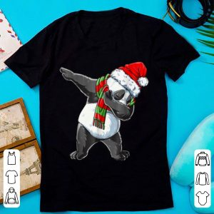 Great Dabbing Panda Santa Christmas Kids Boys Girls Gifts sweater