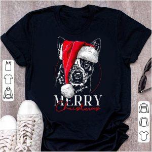 Great Funny Santa Cattle Dog Heeler Merry Christmas dog mom gift sweater
