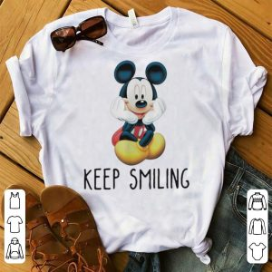 Great Mickey Mouse Keep Smiling shirt