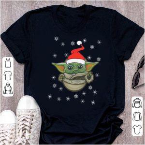 Great Santa Baby Yoda Snow Merry Christmas shirt