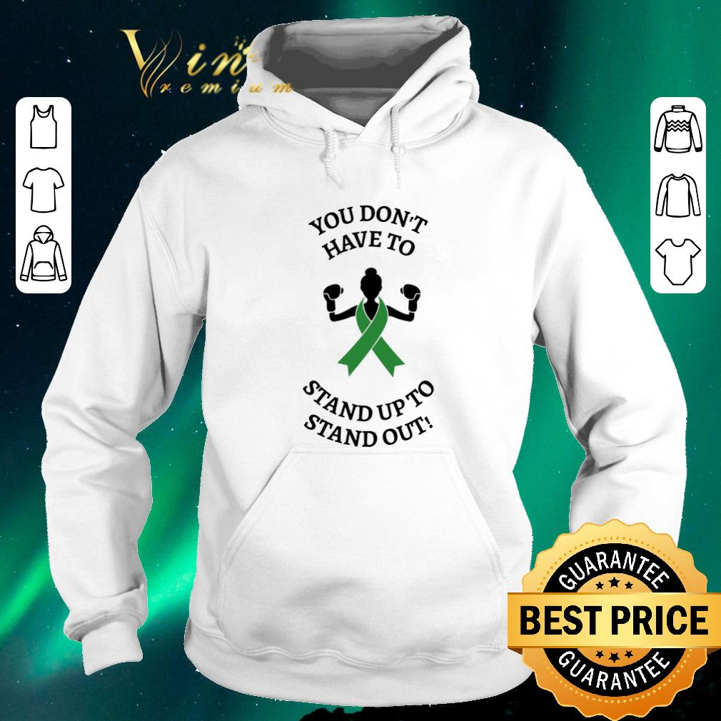 Hot Breast cancer You don t have to stand up to stand out shirt sweater 4 - Hot Breast cancer You don't have to stand up to stand out shirt sweater
