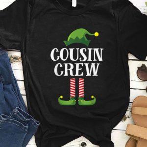 Hot Cousin Crew Elf Matching Group Christmas Family Kids Pajama sweater