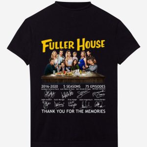 Hot Fuller House Party Thank You For The Memories Signatures shirt